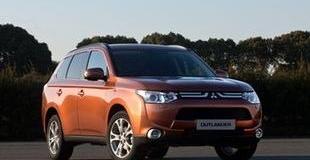 Продажи Mitsubishi Outlander стартовали в Украине