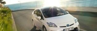 Тойота представит новую гибридную модель автомобиля