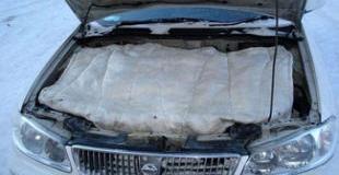 Как утеплить двигатель автомобиля и какой утеплитель выбрать для своего авто?