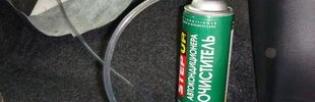 Самостоятельная дезинфекция, очистка и антибактериальная обработка кондиционера автомобиля