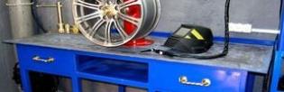 Ремонт легкосплавных и стальных дисков своими руками