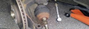 Ремонт рулевого привода: ремонт рулевых тяг, замена рулевого наконечника и пыльника