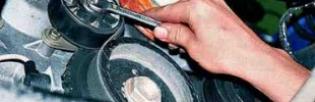 Как заменить натяжной ролик ремня генератора — устройство и технология замены ролика