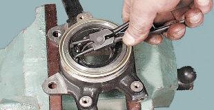 Подшипник ступицы колеса — обслуживаем и ремонтируем сами