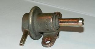 Клапан давления топлива — назначение и неисправности