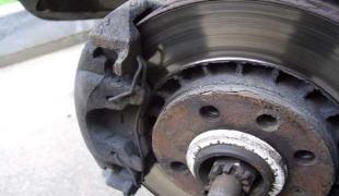 Допустимый износ тормозных дисков
