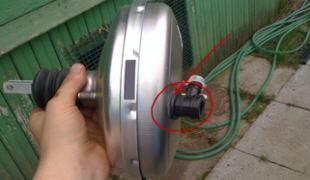 Замена или ремонт вакуумного усилителя тормозов