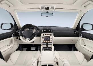 Интерьер салона Cayenne Turbo S