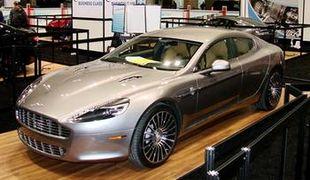 Новинка среди автомобилей от Aston Martin — «Rapide»