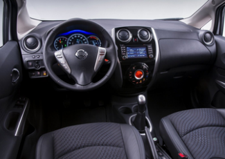 Nissan Note — интерьер салона