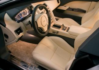 Aston Martin Rapide — интерьер салона
