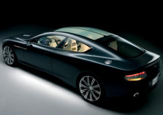 Фотография нового Aston Martin Rapide
