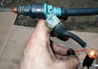 Промывка инжектора в ВАО
