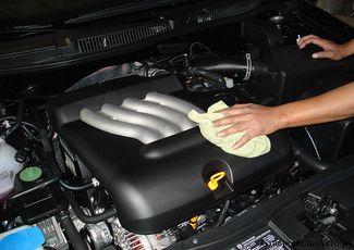 Как мыть двигатель автомобиля