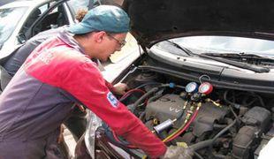 Как установить кондиционер на автомобиль собственными силами