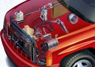 Расположение кондиционера в авто