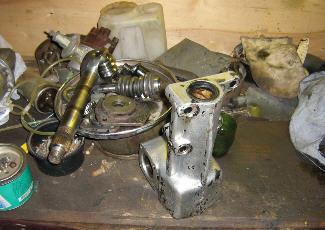 Фото ремонта рулевого редуктора