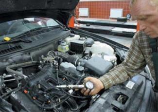 Проверка компрессии двигателя