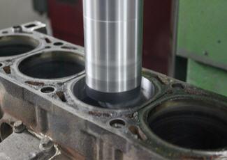 Увеличение объема двигателя — расточка блока