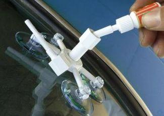 Ремонтируем лобовове стекло самостоятельно