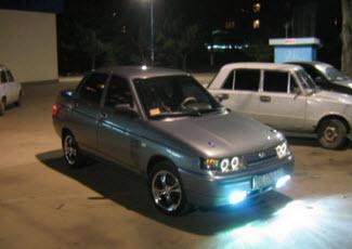 Автомобиль с ксеноном