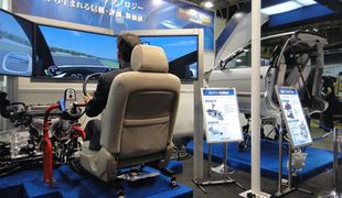Обучение вождению автомобиля на симуляторе
