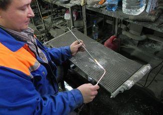 Ремонт радиатора своими руками