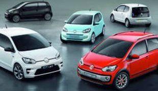 Volkswagen Up! — небольшой четырехместный хэтчбэк