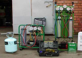 Оборудование для ремонта автокондиционеров
