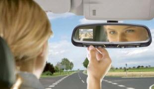 Зеркало заднего вида в салон автомобиля
