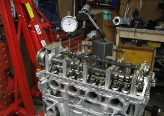Регулировка клапанов в мастерской