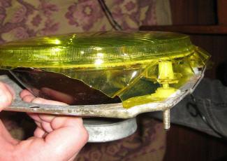 Желтая тонировочная пленка — фотография, drive2.ru
