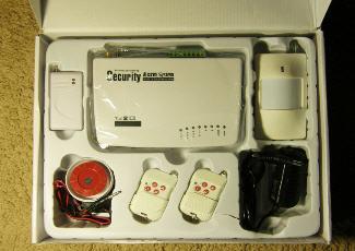 Фото — комплект GSM сигнализации