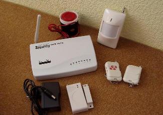 GSM сигнализация в упаковке