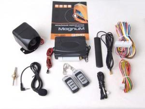 Комплект автомобильной GSM сигнализации