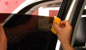 Тонирование бокового стекла