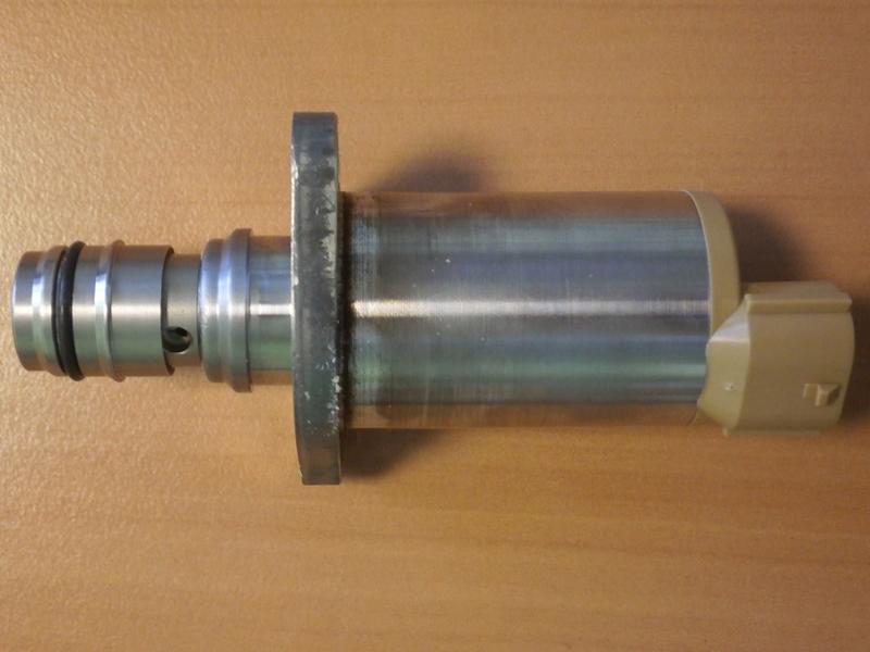 Изношенный клапан отсечки топлива
