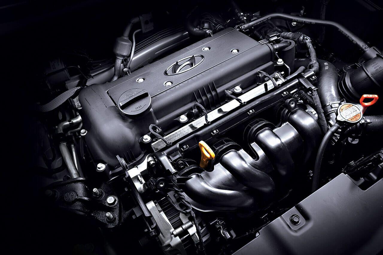 в автомобилях Hyundai различные типы двигателей