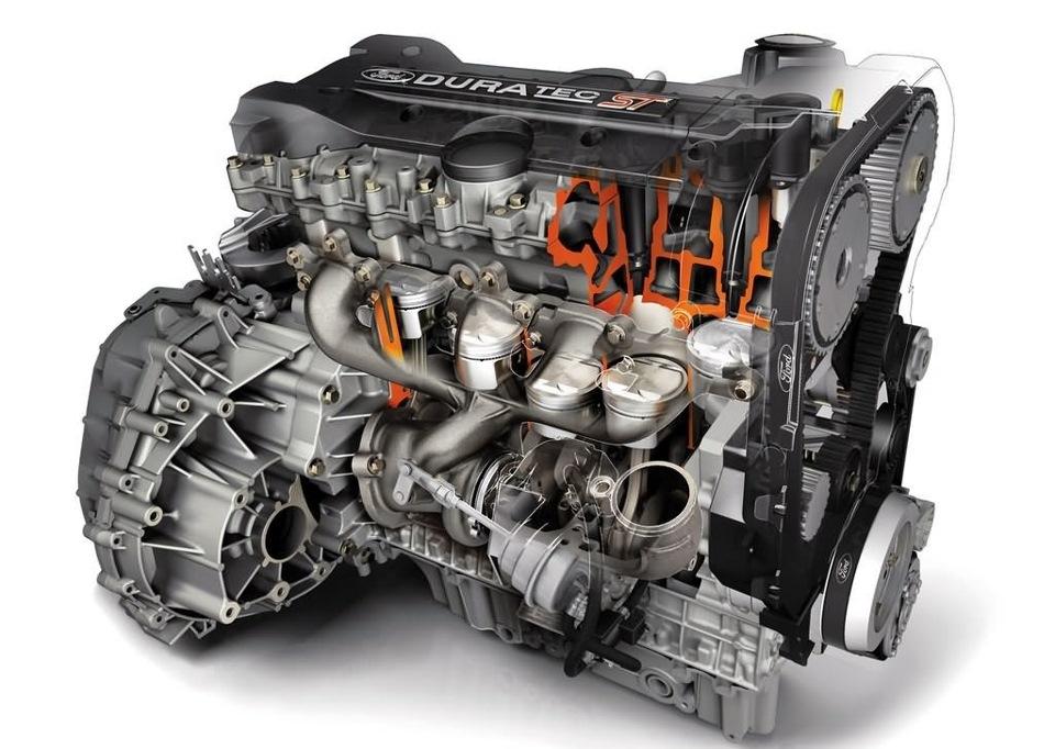 внутреннии компоненты двигателя