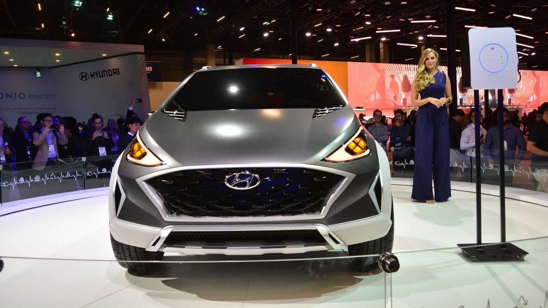Hyundai с прототипами RM, электромобиль с электромотором и средней мощностью