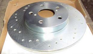 Передние и задние тормозные диски
