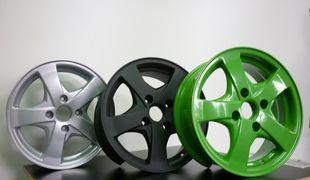 Покраска штампованных колесных дисков своими руками