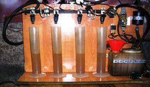 Промывка форсунок инжектора на стенде