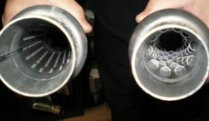 На фотографии два разных резонатора